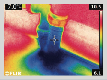 thermal-imaging image